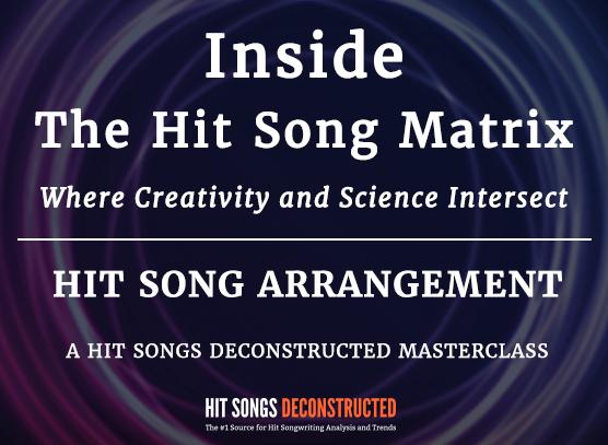 Inside the Hit Song Matrix:  Hit Song Arrangement