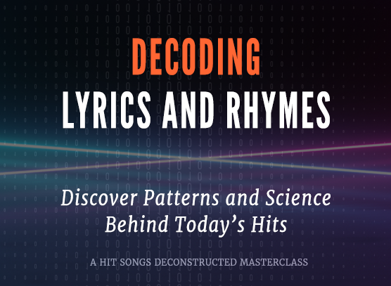 Decoding Hit Song Lyrics & Rhymes