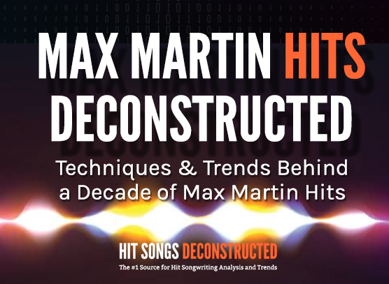 Max Martin Hits Deconstructed