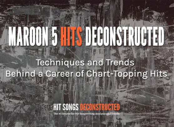 Maroon 5 Hits Deconstructed
