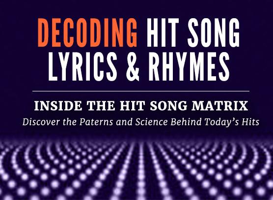 Decoding Hit Song Lyrics and Rhymes