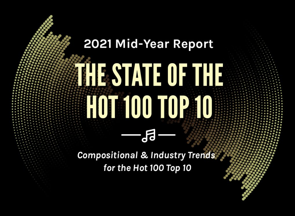 Highlights from The State of the Hot 100 Top 10: Mid-Year 2021
