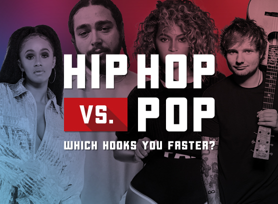 Hip Hop Vs. Pop: Which Hooks You Faster?