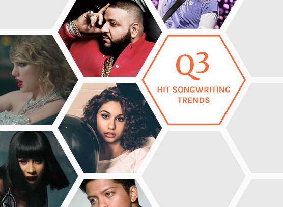 Highlights from the Q3 2017 Hit Songs Deconstructed Quarterly Trend Brief
