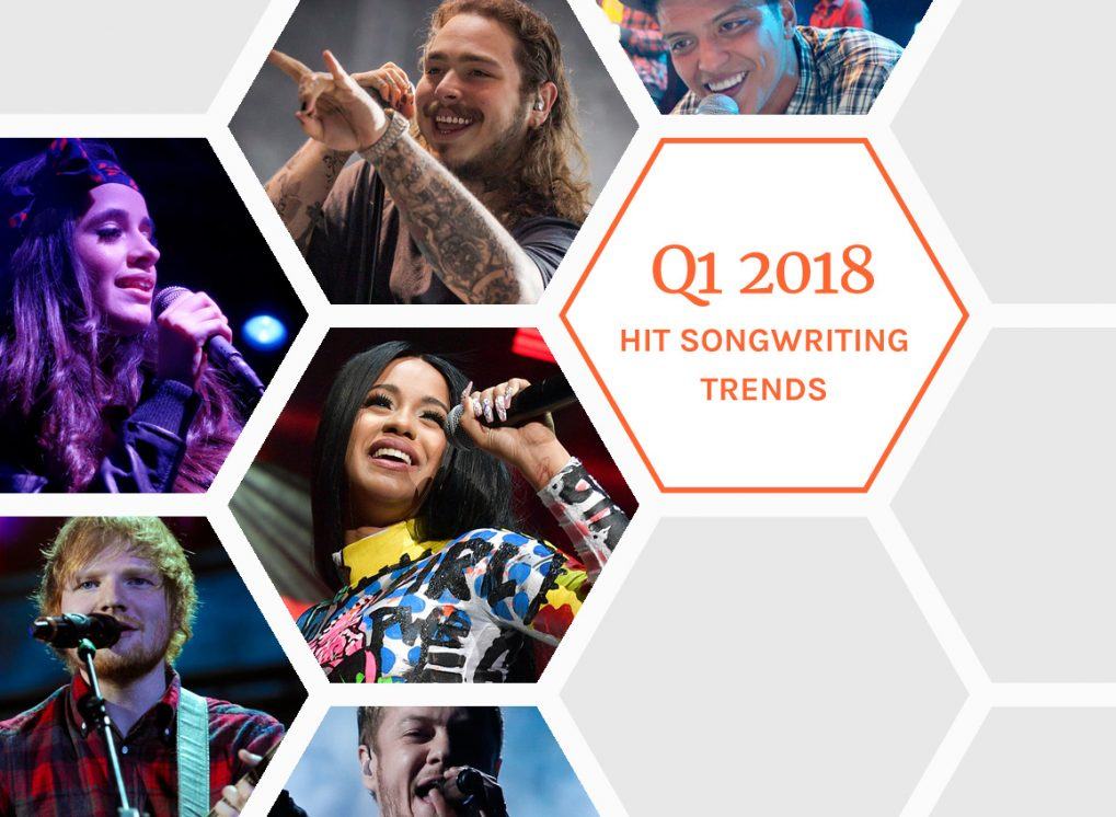 Highlights from the Q1 2018 Hit Songs Deconstructed Trend Report